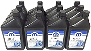 Fits-JEEP DODGE CHRYSLER ATF+4 AUTOMATIC TRANSMISSION FLUID CASE OF 12 QUARTS MOPAR