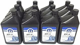 Fits-JEEP DODGE CHRYSLER ATF+4 AUTOMATIC TRANSMISSION FLUID CASE OF 12 QUARTS MOPAR