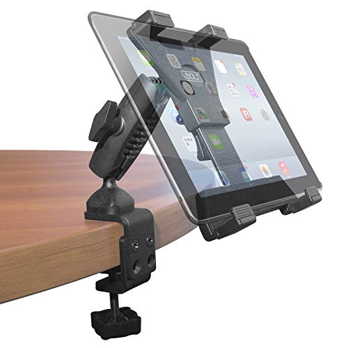 iBOLT TabDock Bizmount Clamp- Heavy Duty Dual-Ball C-Clamp Mount for All 7