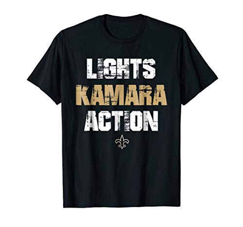 Lights Kamara Action Funny Football New Orleans T-Shirt Tee