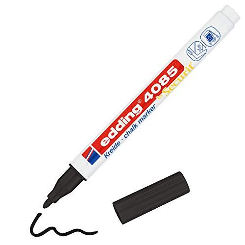edding 4085-001 marcador de tiza negro