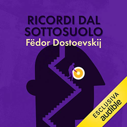 Ricordi dal sottosuolo                   By:                                                                                                                                 Fëdor Dostoevskij                               Narrated by:                                                                                                                                 Roberto Gammino                      Length: 5 hrs and 18 mins     Not rated yet     Overall 0.0