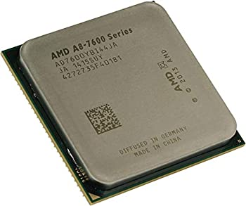 AMD A8 7600 Quad Core  4 Core  3.10 Ghz Processor Socket Fm2+OEM Pack 4 Mb Yes 3.80 Ghz Overclocking Speed 28 Nm AMD 65 W 160.3 F  71.3 C  Product Type  Electronic Components/Microprocessors