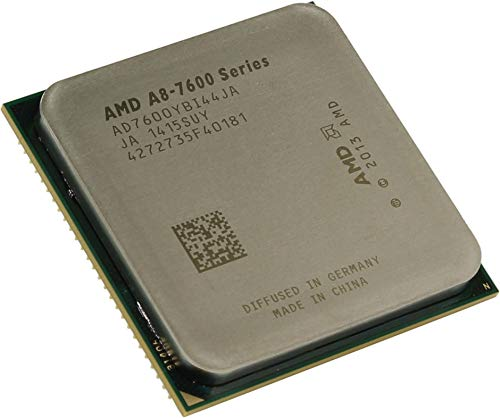 Amd A8. 7600 Quad. Core (4 Core) 3.10 Ghz Processor . Socket Fm2+Oem Pack . 4 Mb . Yes . 3.80 Ghz Overclocking Speed . 28 Nm . Amd . 65 W . 160.3 F (71.3 C) 'Product Type: Electronic Components/Microprocessors'