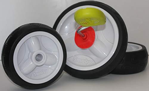 Smoby Dreirad ersatzräder Ersatzreifen Flüsterreifen Flüsterräder