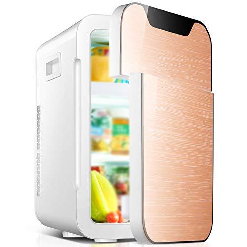 Wangt draagbare koelkast voor auto, 20 l, dubbele spanning, mini-koelkast voor kamperen, reizen, netsnoer, warm, AC/DC