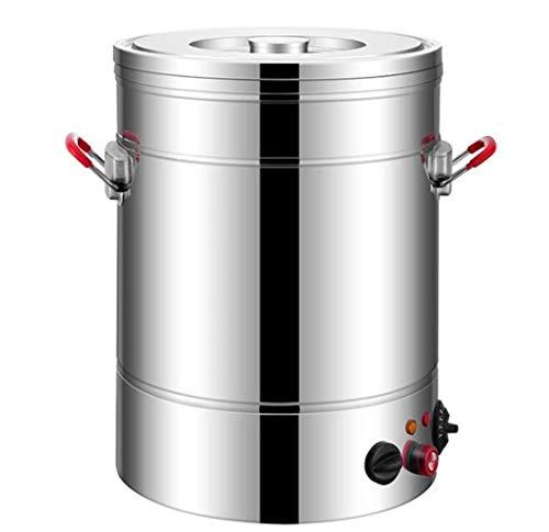 GHKWXUE Isolationshülse/kommerzielles Edelstahl Catering Kessel/Wasserspender Isolierung Barrel/lang isoliert Reis Barrel/große Kapazität Eiskübel/Haus und Küche Kochen