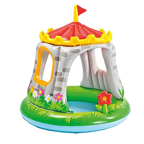 Intex 57122 Royal Baby Castello- Piscina per Bambini 1-3 anni, Multicolore, 122 x 122 cm