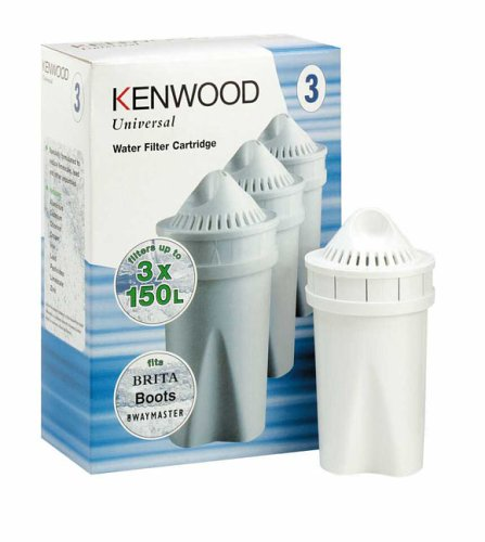 Kenwood 3 Stück Universal Wasserfilter Kartuschen