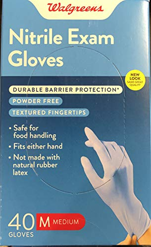 Premium Nitrile Medical Exam Gloves Medium