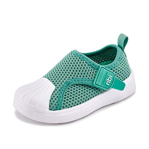 Zapatos para niños Zapatillas de Deporte para niños Zapatillas sin Cordones para niños Zapatos Blancos para niñas Zapatos para niños sin Cordones Zapatos para niños(Green,30 (19.5 cm))