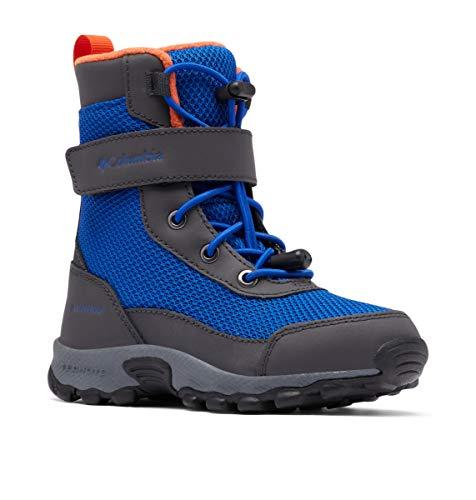 Columbia Jungen Hyper-Boreal Omni-Heat Waterproof Wanderschuh, Kobaltblau/Tangy Orange, 36 EU