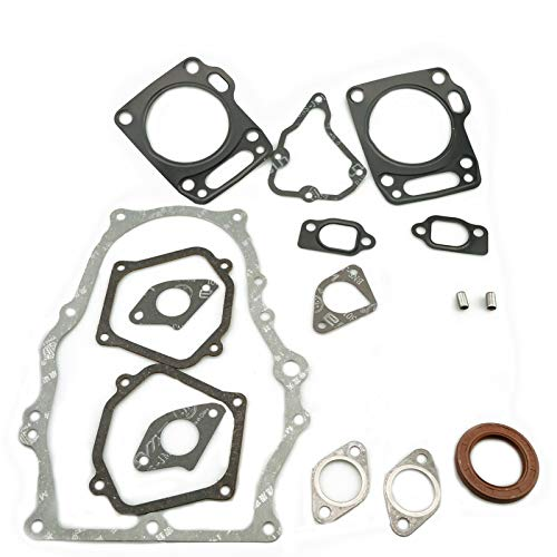 HZ Full Set of Gaskets Including Crankcase Gasket, Cylinder Head Gasket Carburetor Gasket Muffler Gasket Plus Oil Seal for Honda GX620 GX670 Engine
