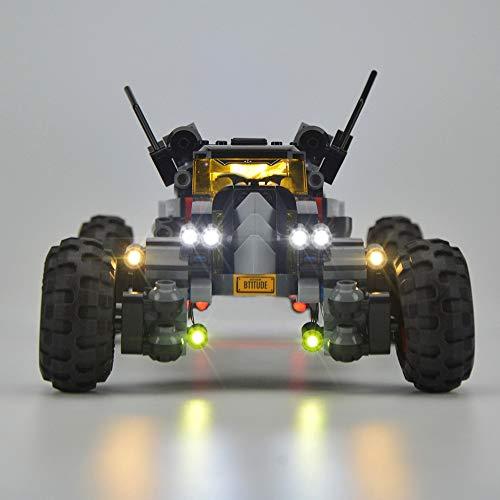 TMIL Iluminación De Fondo Compatible con Lego 70905, Juego De Luces LED para Teléfonos Bloques De Construcción De La Batman Robbin (Lego Set No Está Incluido)