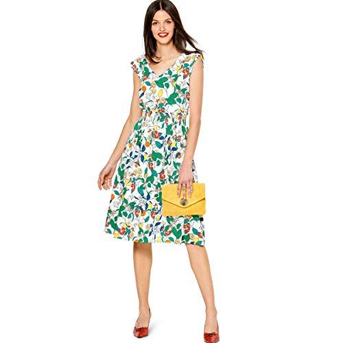 Burda Schnittmuster, 6228, Kleid selber nähen [Damen, Gr. 34-44] Level 3 für Fortgeschrittene