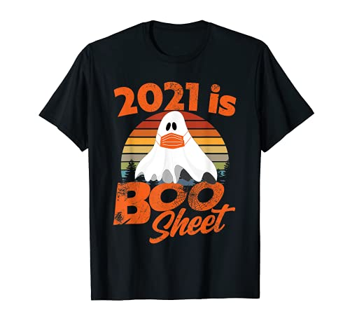 2021 Halloween  2021 is Boo Sheet Camiseta