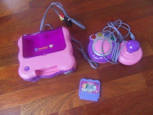 Vtech 80-063254 - V.Smile® Lernkonsole pink inkl. Cinderella