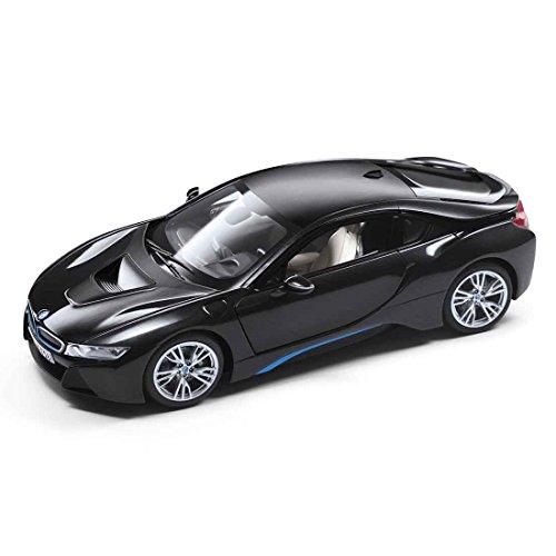 BMW i8, metallic-dunkelgrau/schwarz, Modellauto, Fertigmodell, I-Paragon 1:18