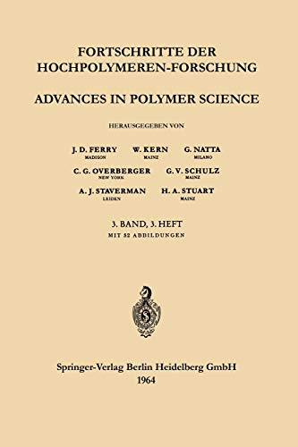 Advances in Polymer Science 3/3 (German, English and French Edition)