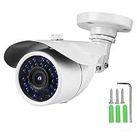 監視カメラ、TVI/AHD/CVI/CVBS IP66屋外NTSCアナログブレットカメラIRナイトビジョンCCTV DVRホームセキュリティカメラ(5MP)