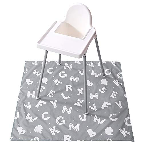 Winthome Washable Baby Splat Mat for Under High Chair Now $13.79