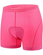 BALEAF Vrouwen Fietsen Ondergoed 3D Gewatteerde Bike Shorts Lichtgewicht Sneldrogende Gel Fietsen Knickers