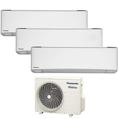 TRIO Split klimagerät R32 ETHEREA WIFI PANASONIC Klimaanlage 3x 2,5 KW A+++