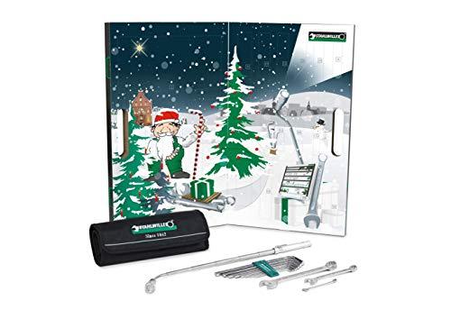 Stahlwille 97241218 Adventskalender 2018-24-teiliger Werkzeug-Satz & Augmented Reality-App, Mehrfarbig