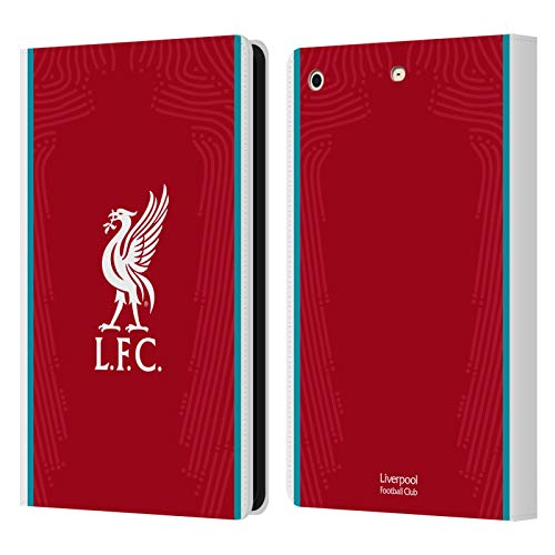 Official Liverpool Football Club Home 2020/21 PU Leather Book Wallet Case Cover Compatible For Apple iPad mini 1 / mini 2 / mini 3