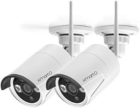 xmartO WB2024 W 2K Super HD WiFi Home Security Camera with Built in Microphone add on Camera product image
