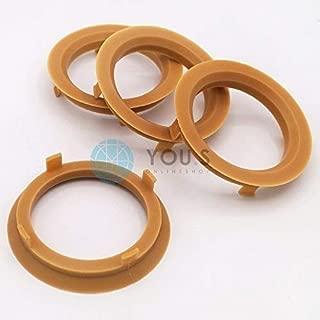 4 anelli di centraggio in alluminio Alu Anello di Centraggio 70,0-57,1