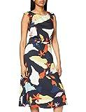 ESPRIT Collection Damen Esprit Kleid, 050EO1E313, Schwarz(003), 38