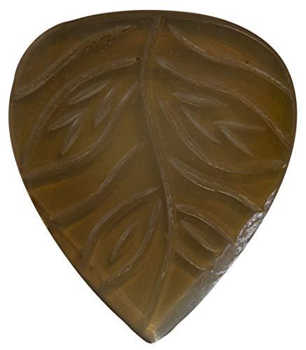 Stanford Guitar Pick The Seed Clear Horn : Luxus Gitarren Plektrum aus Horn für Akustikgitarre, E-Gitarre, Ukulele, Bass…