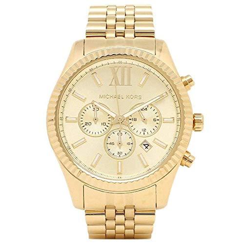 Michael Michael Kors kijken Michael Michael Kors MK8281 MK8281710 Michael Mens horloge goud Japan