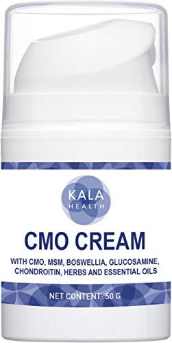 Kala Health Muskel & Gelenk Creme - MSM Creme - MSM Salbe mit Cetyl Myristoleat - Natürliche Topical Muskel & Gelenk Creme - Für Übungen oder altersbedingte Muskelschmerzen