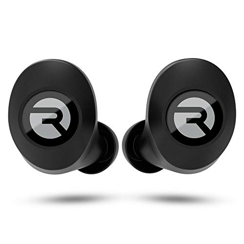 Raycon E25 Wireless Earbuds Bluetooth Headphones - Bluetooth 5.0 Bluetooth Earbuds Stereo Sound in-Ear Bluetooth Headset True Wireless Earbuds 24 Hours Playtime and Built-in Microphone Black
