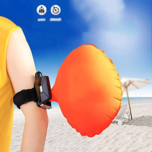 HWHSZ Life-Saving Arm with Self-Help Bracelet Diving Emergency Rescue Equipment for Any Size Wrist Soft Rubber Material Does Not Hurt The Skin