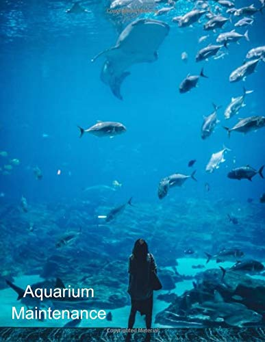 Aquarium Maintenance: Keep your fish happy and healthy with this handy logbook.