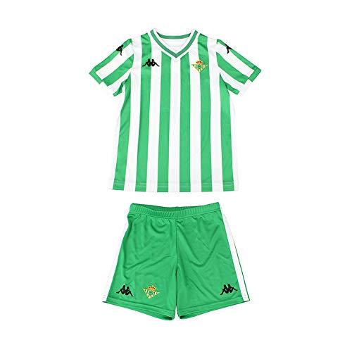 Kit Réplica 1ª equipación para bebés - Real Betis Balompié 2018/2019 - Kappa Replica Babykit Home - 24 meses