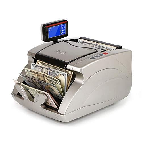 Tragbares Geld Des Silbergrauen Zähldetektors Mit LED-Anzeige - Geldschein-Zählmaschine in Weltwährung Mit UV-Falschgeld-Erkennung Und Fälschungssicherheit