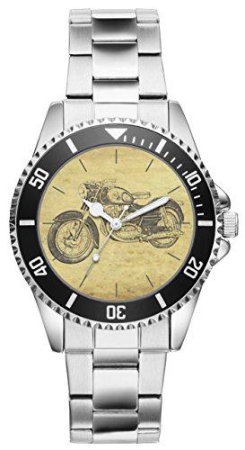 Kiesenberg Uhr 20121 Geschenk Artikel für Puch 250 SG Motorrad Fans und Fahrer