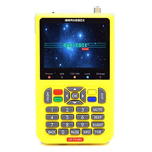 Satellite Signal Meter, V8 Satellite Finder Numérique, HD...