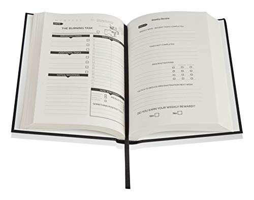 Product Image 6: The Procrastinators Planner – Daily / Weekly Organizer Designed to Increase Productivity and Combat Procrastination – Hardcover Half Year 182 Day Planner With Science and Philosopy of Procrastination