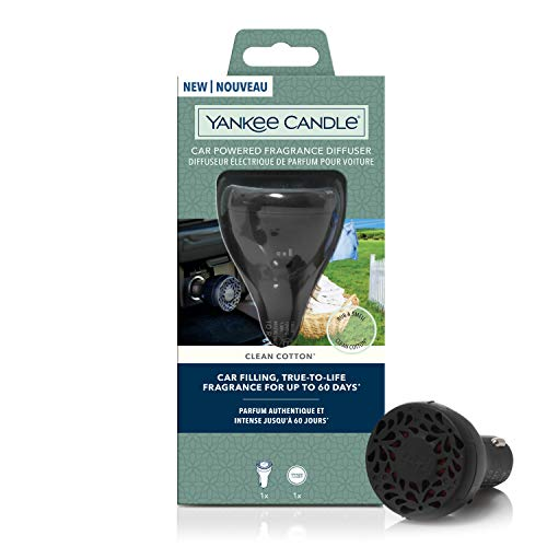 YANKEE CANDLE- New Car Powered Clean Cotton