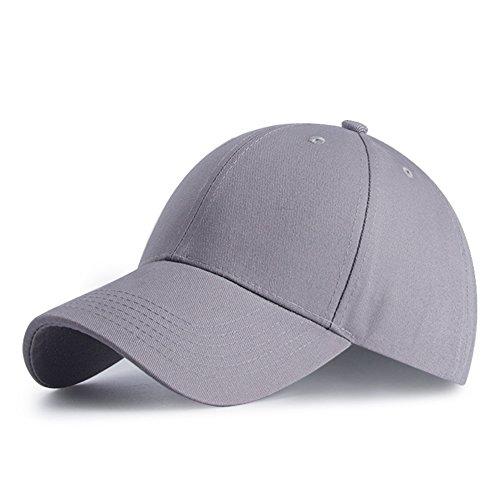 Cappello Uomo Unisex Berretto da Baseball HGDGears Cotone Cappello da Baseball Snapback di Hip Hop Cappello Piatto