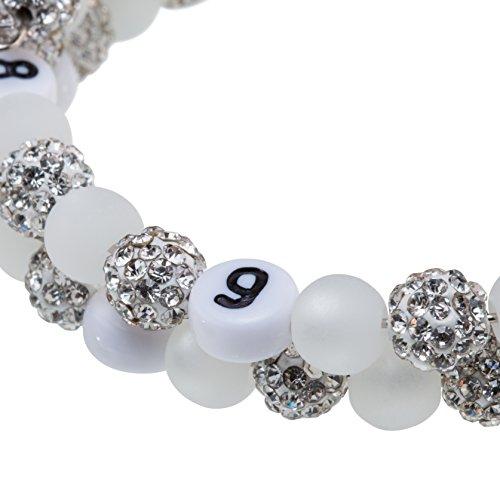 Stillarmband Glamour – Praktisch für stillende Mütter sowie ein ideales Geschenk zur Geburt! (weiß) - 2