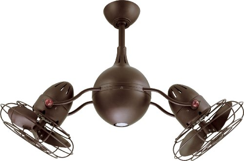 Matthews AQ-TB-MTL Acqua 37' Dual Rotational Outdoor Ceiling...