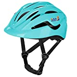AGH Kids Bike Helmet, Suitable for Toddler Kids Boys Girls, Adjustable Kid Bike Hlemets for Multi-Sports Cycling Skating Scooter (Light Blue)