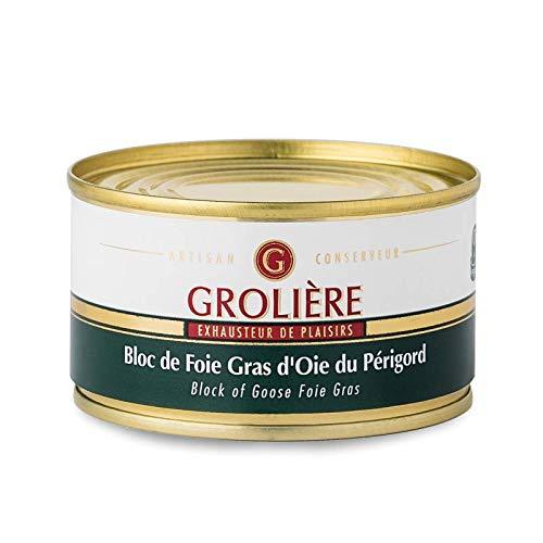 Foie Gras Grolière Bloc dOie du Périgord 130 g 1 Unité