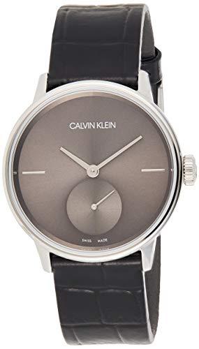 Calvin Klein K2Y231C3 - Reloj analógico de Cuarzo para Mujer con Correa de Piel, Color Negro